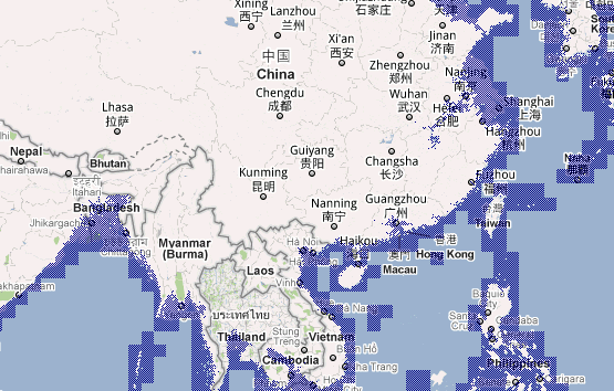 World map of coastlines after ocean levels rise chewychunks world map of coastlines after ocean levels rise from gumiabroncs Image collections