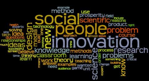 Wordle of my teaching philosophy (extended version)