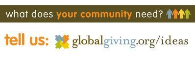 globalgiving ideas bumper sticker