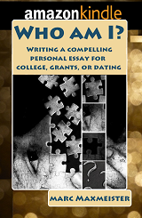 "Download the kindle book, ""Who am I? Writing a compelling personal essay"" today"