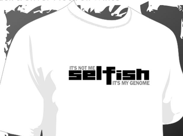 selfish-genome-tshirt
