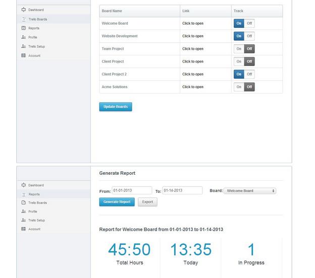 Board_Trail-Trello Time Tracking