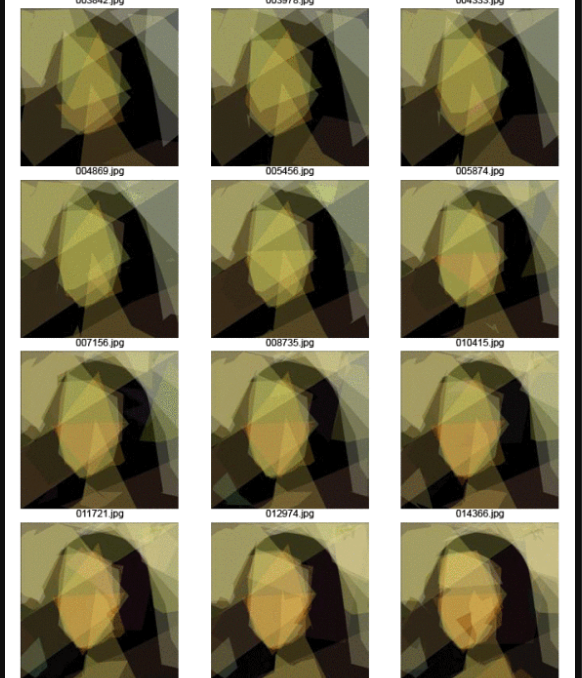 Genetic Programming- Evolution of Mona Lisa - 3
