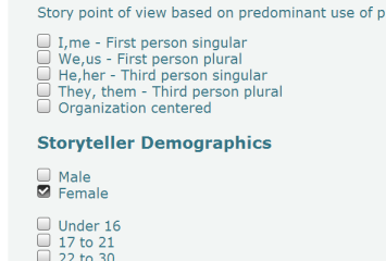 demographic drill down #1
