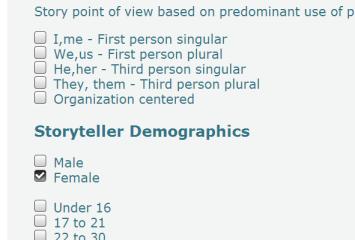 demographic drill down #1