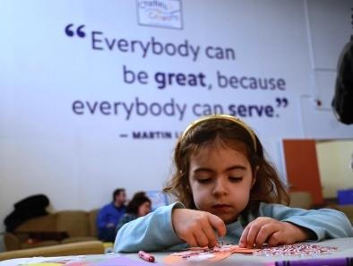 everybody can be great, because anybody can serve
