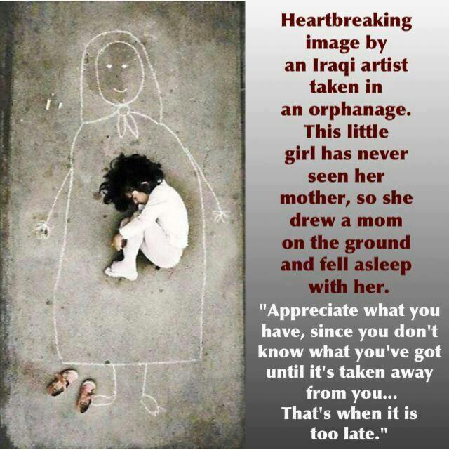 iraqi orphan girl