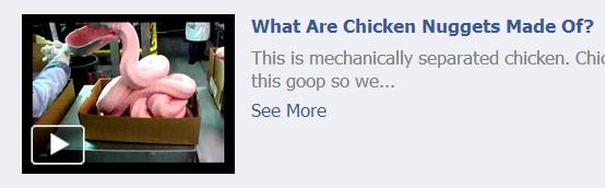 mechanically separated organic free range chicken