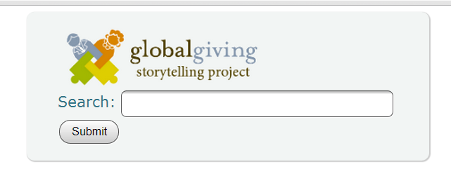 Search Stories From Globalgiving Storytelling Project #1