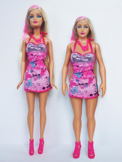 barbie vs human