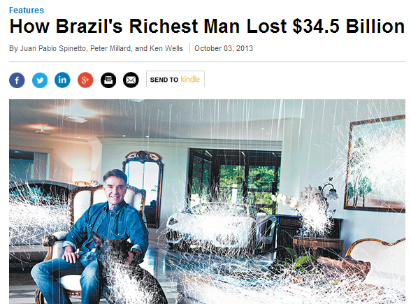 Eike Batista- How Brazil's Richest Man Lost $34.5 Billion - Businessweek