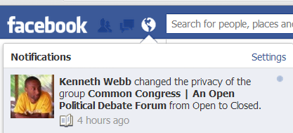 ironic politics facebook