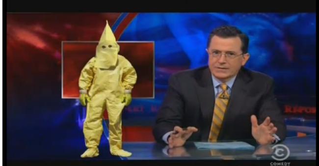 KKK radiation suits