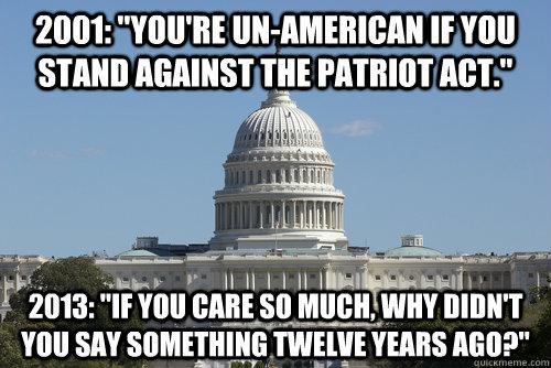 political surveillance douchebaggery