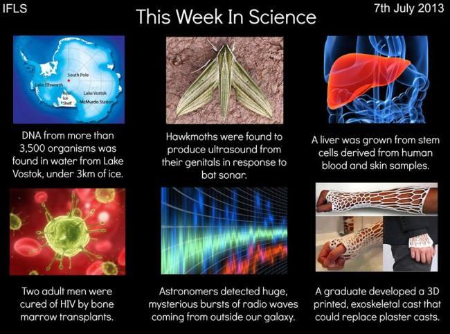 science week july 4 2013