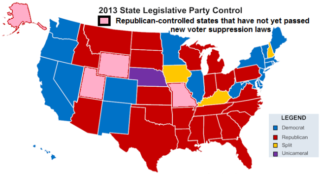 2013-GOP-controlled-state-legislatures-that-passed-voting-suppression-laws