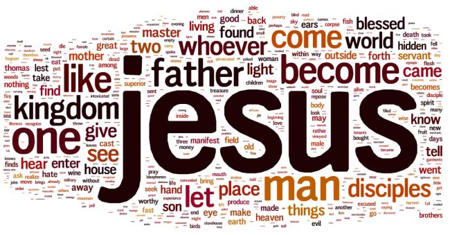 gospel thomas wordle