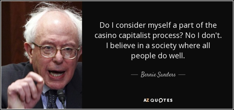 Casino capitalist process