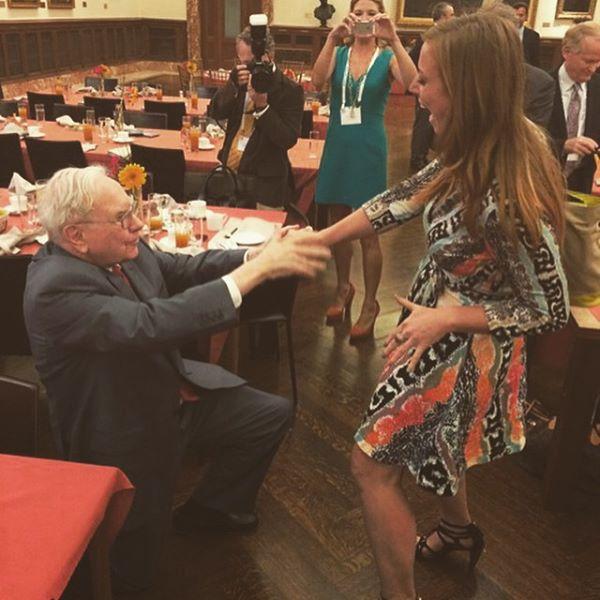 Warren_buffet_proposes to katie meyler