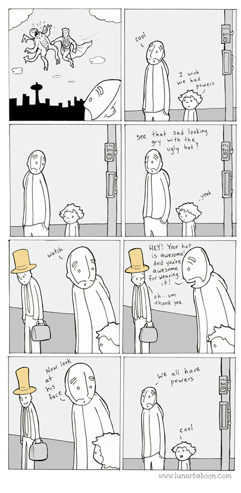we all have superpowers