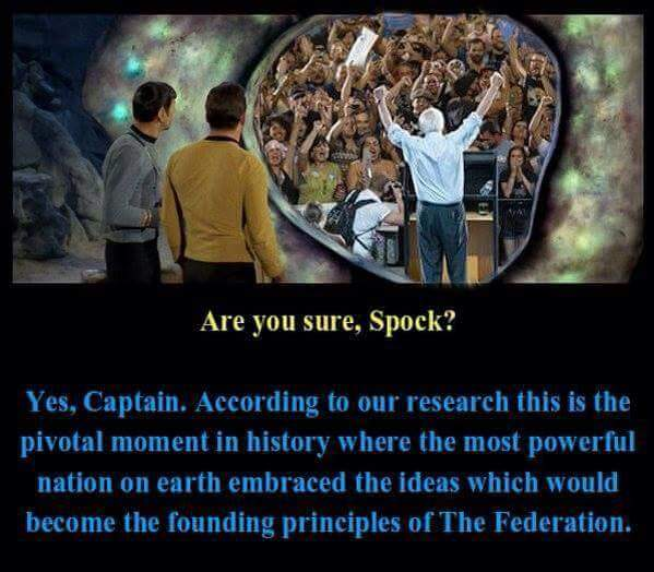star trek federation bernie sanders