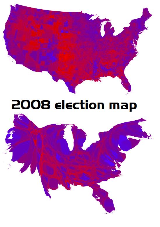 2008-election-map-adjusted-for-population