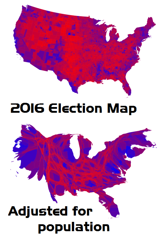2016-election-map-adjusted-for-population