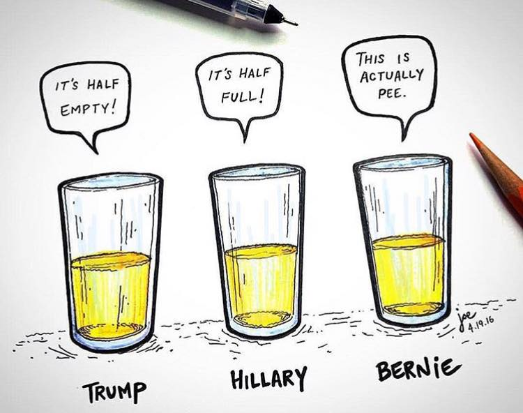 bernie-reality-check-glass-full-of-pee