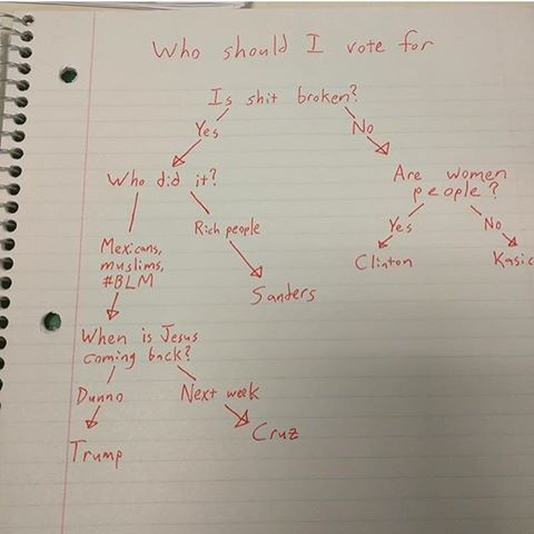 flow-chart-who-to-vote-for-in-2016